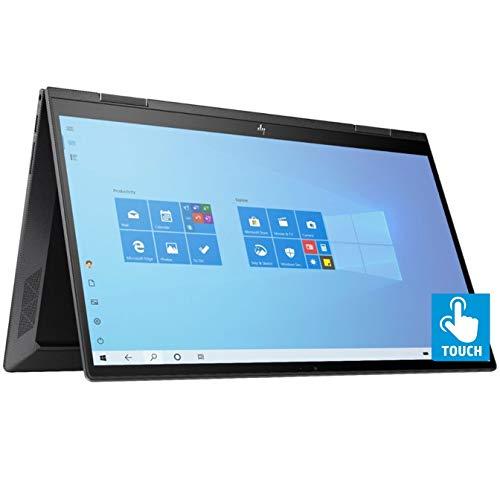 HP Envy x360 15.6'' 2-in-1 FHD IPS Touchscreen Laptop PC, AMD Ryzen 5 4500U 2.3GHz, 8GB DDR4, 256GB PCIe SSD, Backlit Keyboard, Wi-Fi 6 AX, Bluetooth, Bang&Olufsen Audio, Win 10 w/Tigology Mousepad