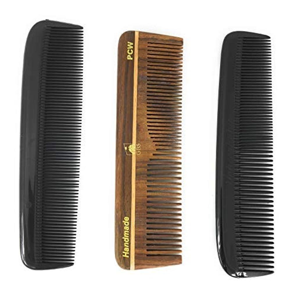 禁じるほのか備品GBS Hair Comb Variety 3 pack - 5