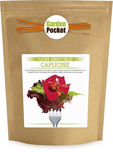 Garden Pocket - Fleurs Comestibles CAPUCINE - Sac de pot de fleur