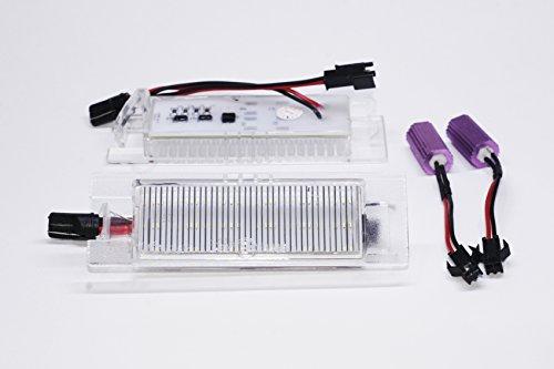 ledpremium 2x Feux de plaques d'immatriculation LED pour OPEL MERIVA A canbus …