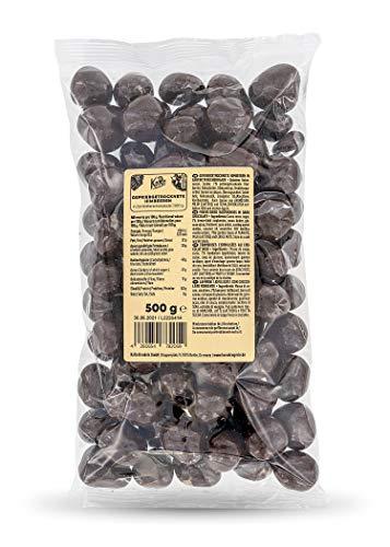 KoRo - Skinny Dipped Gefriergetrocknete Himbeeren in Zartbitterschokolade - 500 g