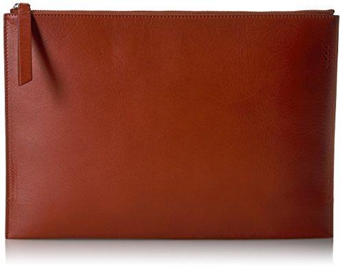 ECCO Women's Sculptured Day Clutch Evening Handbag, Red Clay, One Size