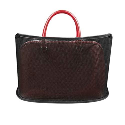 CYGG Auto Netztasche Handtaschen-Halter für Handtasche Tasche Dokumente Telefon Wertsachen Zuhause Küche Einkaufstasche Auto Organizer Aufbewahrung