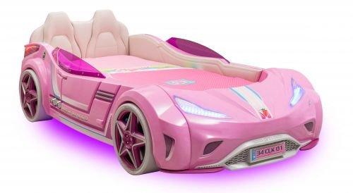 Cilek GTI LED Autobett PINK