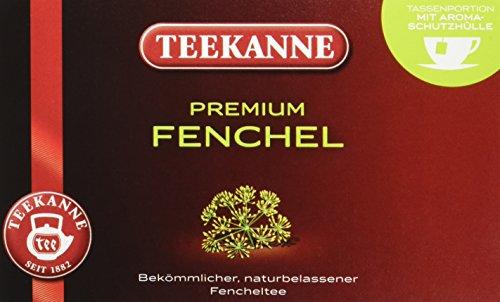 Teekanne Premium Fenchel 20 Beutel, 5er Pack (5 x 50 g Packung)