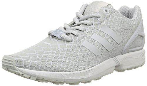 adidas ZX Flux Techfit, Zapatillas para Hombre, Gris/Blanco, 44 2/3 EU