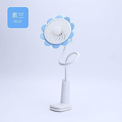 RTRY Ricaricabile Tramite Usb Mini Clip Ventilatore Portatile Portatile Ventola Mute Posto Letto In Dormitorio Ventola Superiore