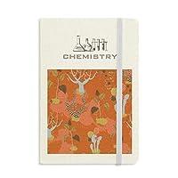 砂漠のサボテンのサバンナのオレンジの木 化学手帳クラシックジャーナル日記A 5