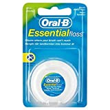 Oral-B Essential Floss Fil dentaire ciré Menthe 50m Medium