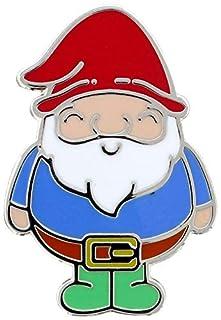 Chubby Gnome Enamel Pin Badge