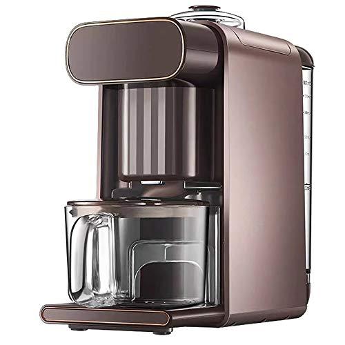 L-AN Espressomaschine, Nach Herstellung von Sojamilch, das Reinigungsprogramm läuft automatisch, keine manuelle Bedienung erforderlich ist, spart Zeit und Aufwand, kann manuell betrieben von Kolben Ak