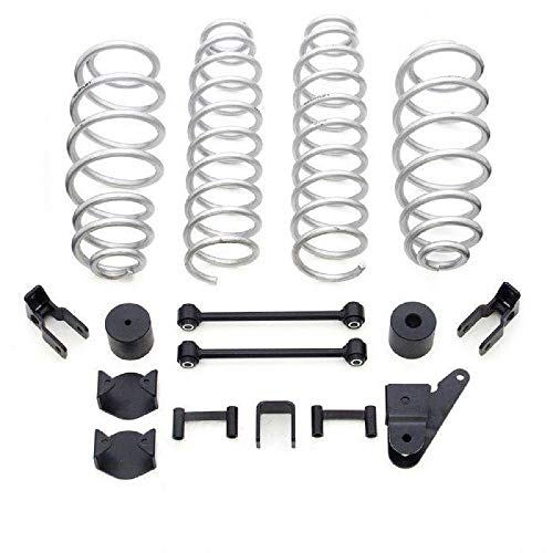 Readylift 2007-2018 Compatible with Jeep Wrangler JK 4wd 2.5' Coil Spring Lift Kit 69-6200
