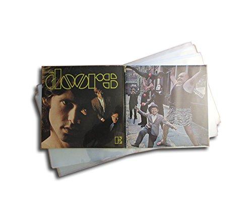Doppel Schallplatten Schutzhüllen Clear Protected (50 Stück)