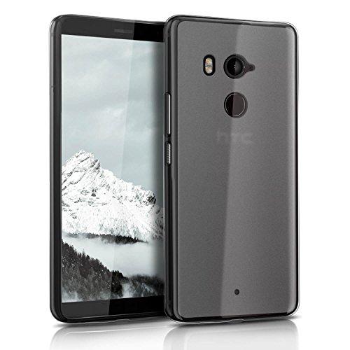 United Case Bumper Antiurto per HTC U11+ Plus | Bianco Trasparente | Colorazione Opaca ed