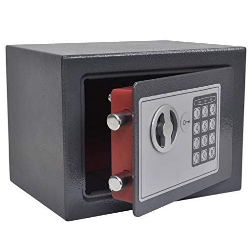 vidaXL Caja Fuerte Digital Electrónica Seguridad Esconder p