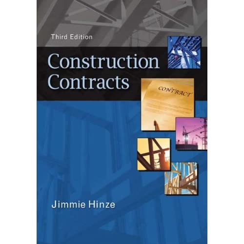 Construction Contracts (English Edition)