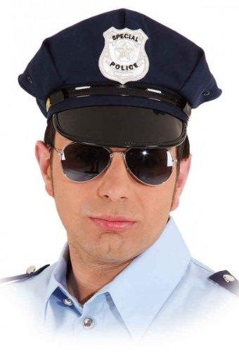 Orlob 23460.0-58 amerikanische Polizeimütze blau KW 58 Karneval Uniform-Mütze Polizist