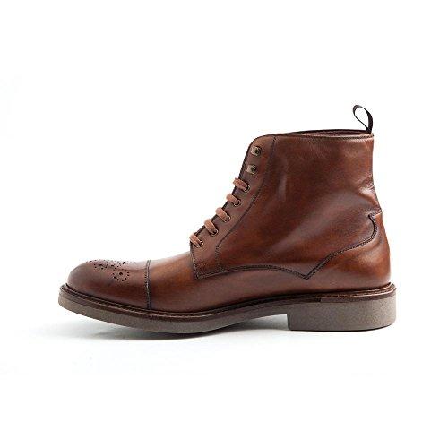 Beatnik Shoes Beatnik Truman, Herren Biker Boots, Braun - Einfarbig - Größe: 42