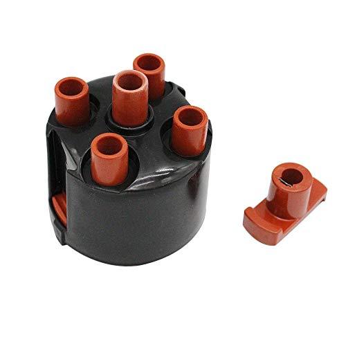 KKmoon Verteilerkappen-Rotorsatz, Zündverteilerkappe passend für V W Golf 3