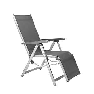Kettler Basic Plus Advantage Relaxliege Aluminium - praktische Klappliege - Liegestuhl verstellbar & leicht…