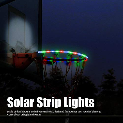 Luces de llantas Protección del medio ambiente Luces de tira para jardines(Waterproof casing RGB)