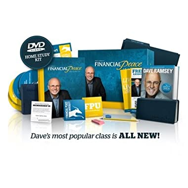 Dave Ramsey Financial Peace University DVD Home Study Kit (9 Week Course) 2012 Release