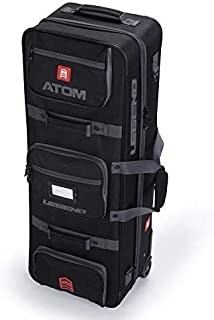 Legend Archery Atom Hybrid Archery Roller Case Bag for Recurve Bows I Include Telescopic Arrows Tube I Multiple Pockets, Straps and Lightweight | TSA & Airlines Approved