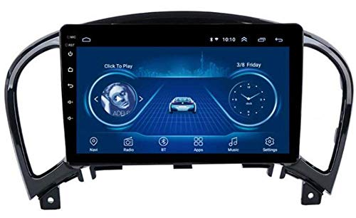 SSeir Coche estéreo Android 8.1 Navegación GPS, para Nissan Juke 2010-2014 YF15 Infiniti ESQ 2011-2017, 9 Pulgadas Pantalla táctil Completa Radio de Reproductor Multimedia, Bluetooth FM Am Dab USB