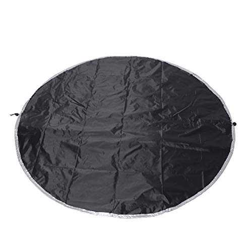 Generic 130cm Round Waterproof Dutyproof Large Protect Premium For Livivo BBQ Grill Barbecue Grill Cover