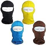 4PCS Yellow Ski Shileds for Mens Baclava Women Helmet...