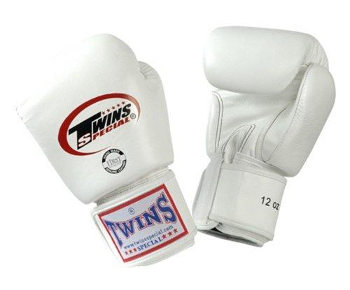 Twins BGVL-3 - Guantes de boxeo, todos los tamaños, color blanco