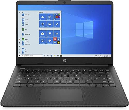 HP - PC 14s-fq0037nl Notebook, AMD 3020e, RAM 4 GB, eMMC 64 GB, Grafica AMD Radeon, Windows 10 Home S, Schermo 14  HD SVA, USB-C, HDMI, Webcam TrueVision 720p, RJ-45, Nero