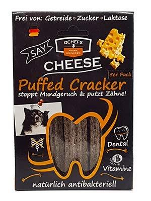 QCHEFS – Dental – Power Puffed Cracker, 125 g