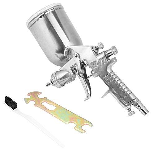 Pistola a spruzzo con vernice ad aria, ugello pratico da 1,5 mm economico 400 ml Capacità Modalità di alimentazione a gravità Strumento pneumatico Pistola a spruzzo con vernice ad aria per giocattoli