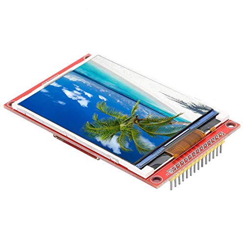 Boaby Módulo de Pantalla LCD Módulo de Pantalla LCD TFT de Interfaz periférica en Serie de 3,2 Pulgadas 240 * 320 con Jaula para Tarjetas SD(2)