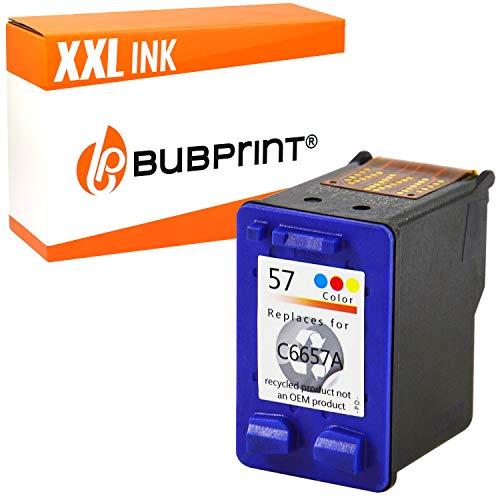 Bubprint Druckerpatrone kompatibel für HP 57 für DeskJet 5150 5550 5600 5650 5652 F4180 OfficeJet 5510 PhotoSmart 7760 PSC 1110 1200 1210 1215 1310 1315 1315S 1350 2410 Farbe