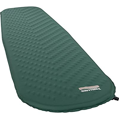 Therm-a-Rest Trail Lite Self-Inflating Foam Camping Pad, Standard Valve, Regular - 20 x 72 Inches