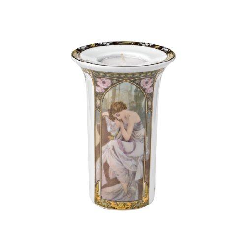 Goebel, Soprammobile portalumino in porcellana, (Mehrfarbig)