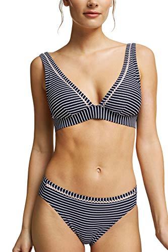 ESPRIT Bodywear Damen Grenada Beach NYRpadded top Bikini, 401, 44D