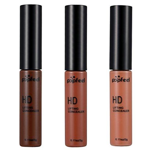 Homyl Correcteur Liquide de Maquillage pour la Couverture des Cercles Noirs Cache de Tâches - # 8# 9# 10