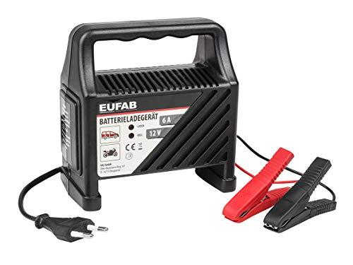 Eufab 16542 Ladegerät 6 Ampere, 12 V CBC 6