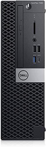 DELL OptiPlex 7060 Desktop SFF PC, Intel® Core™ Intel Core i7-8700T 8GB RAM DDR4, 256GB SSD SATA M.2 SAMSUNG Windows 10 Pro MAR (Zertifiziert) (Generalüberholt)