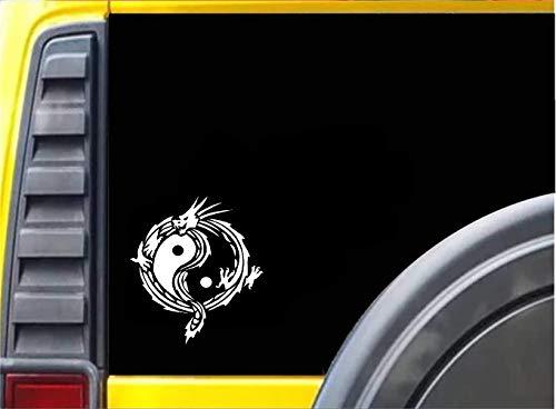 16Cm * 18Cm chinesisches Drache-Tätowierungs-Entwurfs-lustiges Auto-Aufkleber-Motorrad-Abziehbild