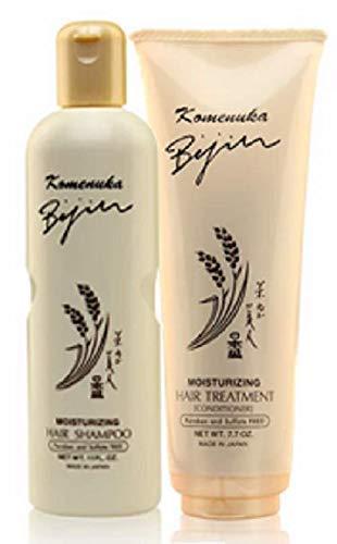 Komenuka Bijin Moisturizing Hair Shampoo and...