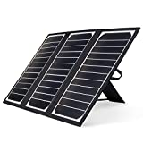 Kingsolar Solar Charger 21W Portable Solar Panel Charger with 2 USB Ports, Waterproof Camping Foldable Portable Solar Charger for Cell Phone Tablet GPS iPhone iPad Camera Electronic Device