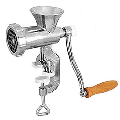 dewdropy Picadora De Carne Manual, Picadora De Carne Picadora De Carne Máquina para Hacer Salchichas Máquina De Moler Herramientas De Cocina para El Hogar Cocina