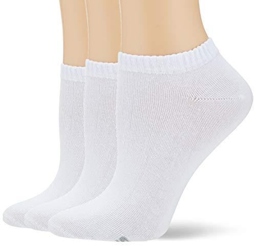 Skechers Socks Damen Sk43007 Füßlinge, Weiß (White 1000), (Herstellergröße: 39/42) (3er Pack)