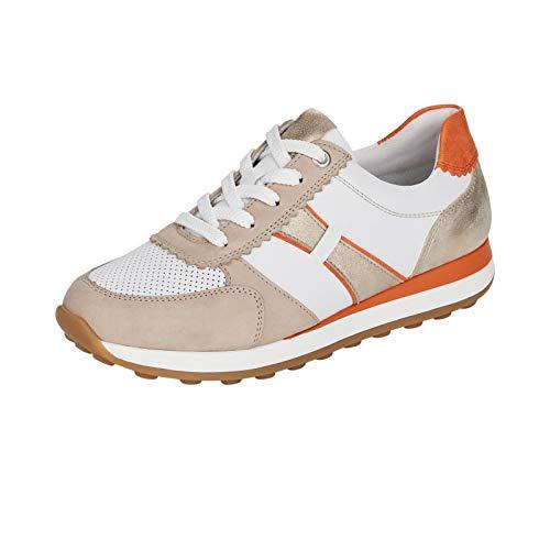 Remonte Mujer Zapatos Bajos R1801, señora Bajo,Plantilla Desmontable,Zapato bajo,Zapato de Calle,cordón,Zapato Deportivo,Weiss Kombi,36 EU / 3.5 EU