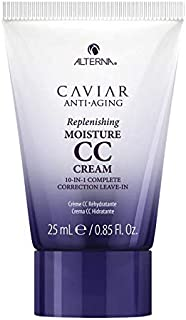 Alterna Caviar Anti-Aging Replenishing Moisture CC Cream 10-in-1 Complete Correction Leave-In Treatment, 0.85 fl oz / 25 ml, Travel Sample Size Mini
