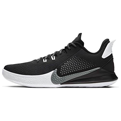 Nike Men's Kobe Mamba Fury Basketball Shoes CK2087 (Black/Smoke Grey-White, Numeric_11)